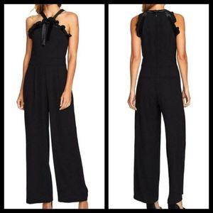 Cece Black Halter Jumpsuit Sizes 6 - 12